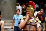 roman soldier smoking